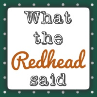 What The Red Head Said