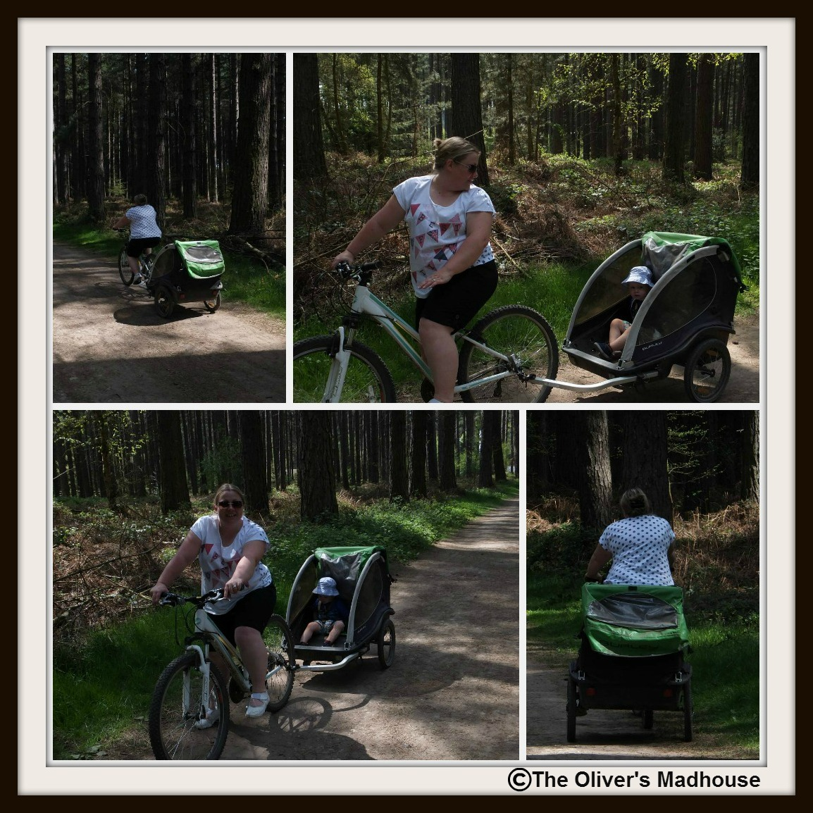 "Active Family Month Challenge - ""Go For A Spin"" The Oliver\\\'s Madhouse"