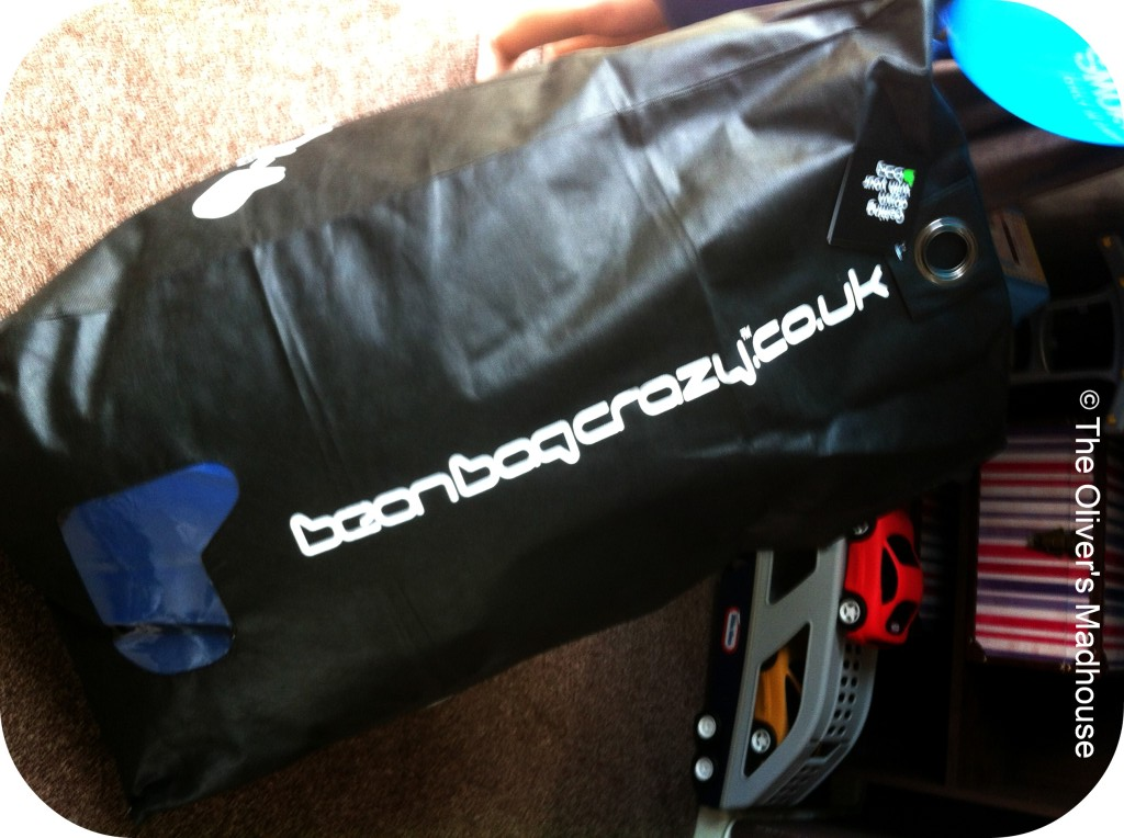 Review: Mini-b Beanbag (Giveaway Now Closed) The Oliver\\\'s Madhouse