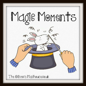Magic moments Link Up Badge