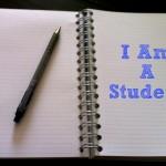 I Am A Student Again