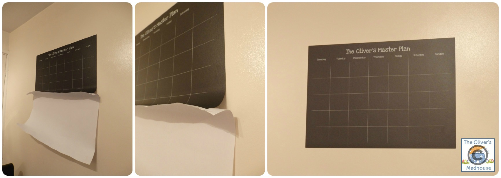 Review: TinyMe - Personalised Chalkboard Planner The Oliver\\\'s Madhouse