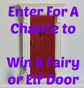 Win A Fairy or Elf Door With The Magic Door Store (Giveaway Now Closed)  The Oliver\\\'s Madhouse