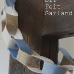 DIY Felt Garland