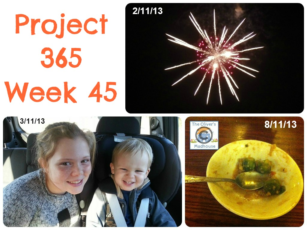 My Week That Was - Project 365 Week 45 The Oliver\\\'s Madhouse