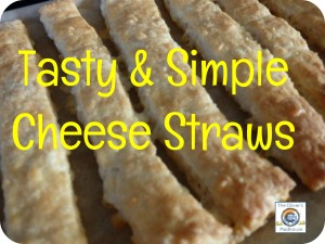 Tasty And Simple Cheese Straw Recipe The Oliver\\\'s Madhouse