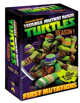 Giveaway: Teenage Mutant Ninja Turtles Complete Season 1 (DVD) (Giveaway Now Closed) The Oliver\\\'s Madhouse