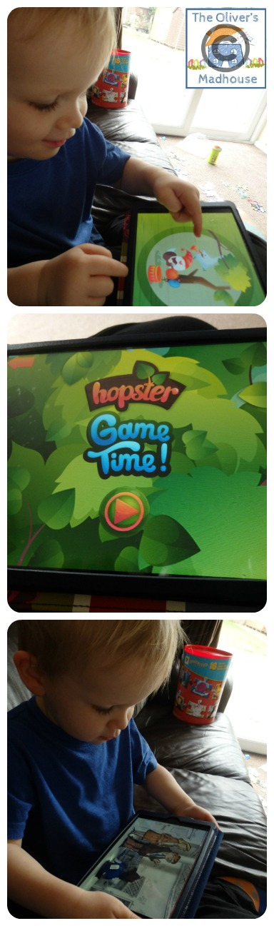 Review: Hopster TV iPad App The Oliver\\\'s Madhouse