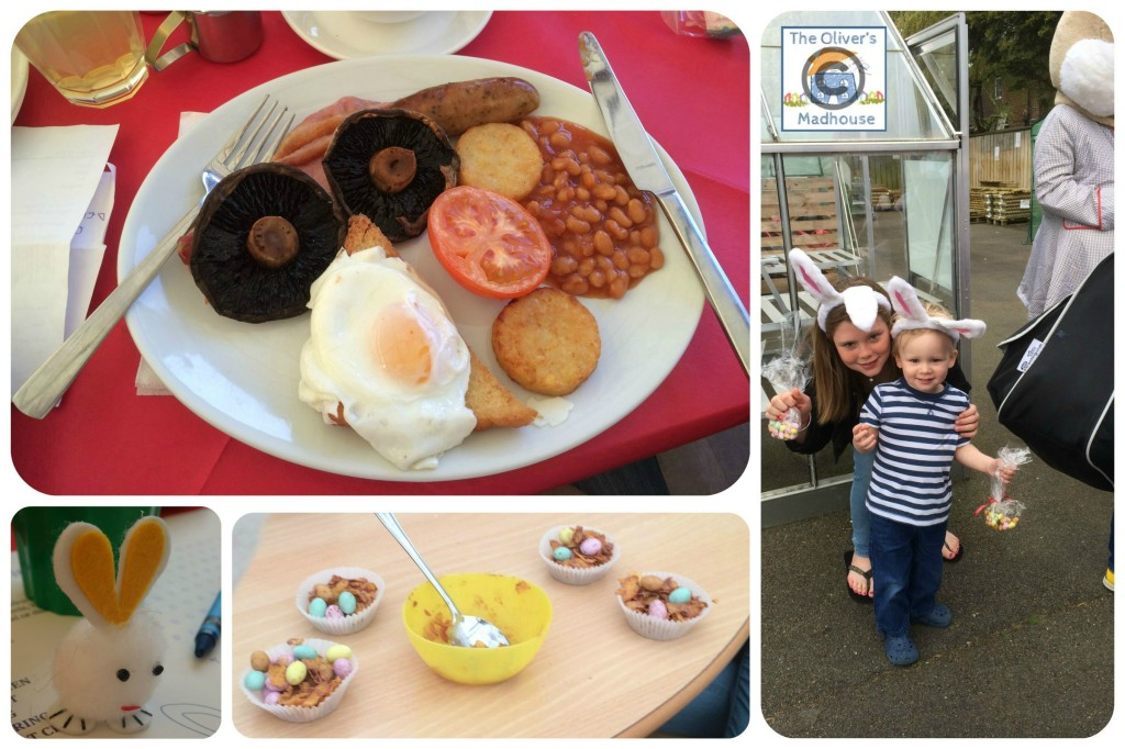 Eating Breakfast With The Easter Bunny The Oliver\\\'s Madhouse