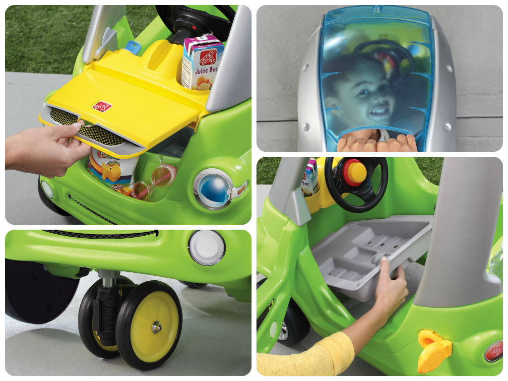 Giveaway: Step2 Easy Turn Coupe From Activity Toys Direct (Giveaway Now Closed) The Oliver\\\'s Madhouse