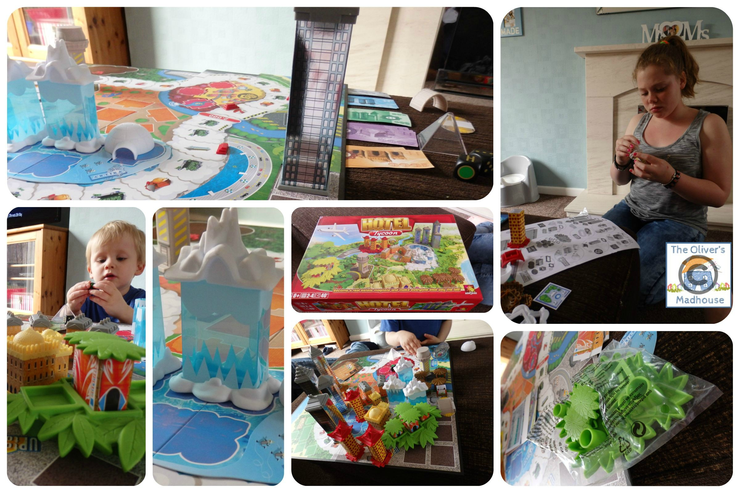 Board Game Hotel a Hotel Tycoon Board Game