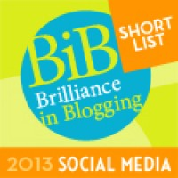 Shortlisted BiB Award - Social Media 2013