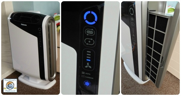 Review: Fellowes AeraMax DX95 Air Purifier  The Oliver\\\'s Madhouse