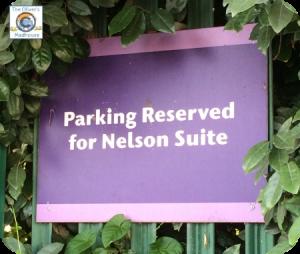 Nelson Suite Parking Sign Butlins Bognor Regis