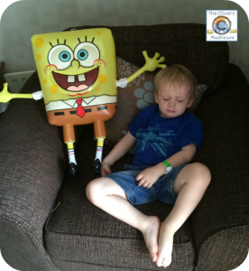 SpongeBob Sleeping