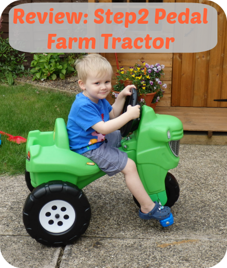 Review: Step2 Pedal Farm Tractor The Oliver\\\'s Madhouse