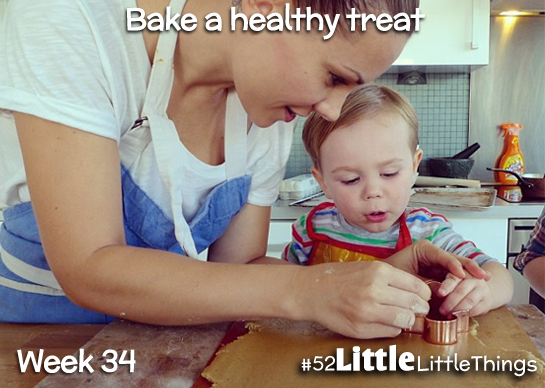 #52LittleThings Week 34 - Bake A Healthy Treat The Oliver\\\'s Madhouse