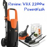 Review: VAX 2200w PowerWash Pressure Washer
