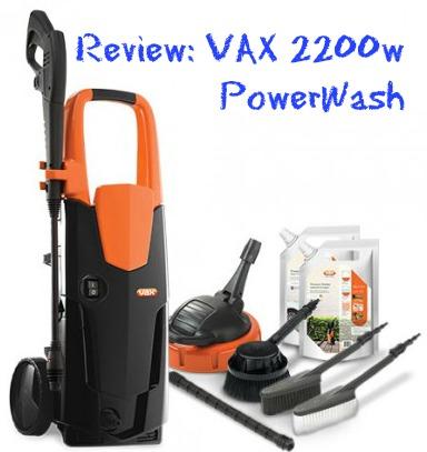 Review VAX  2200 w PowerWash Pressure Washer