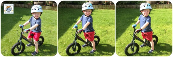 Active Family - Learning To Ride A Balance Bike The Oliver\\\'s Madhouse