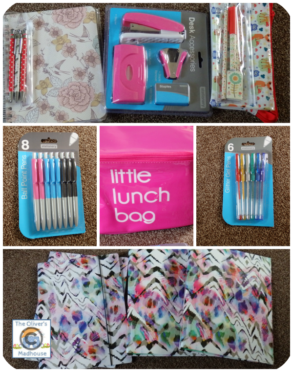 Buying The Back To School Essentials At Home Bargains  The Oliver\\\'s Madhouse