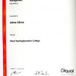 Certificate to Celebrate