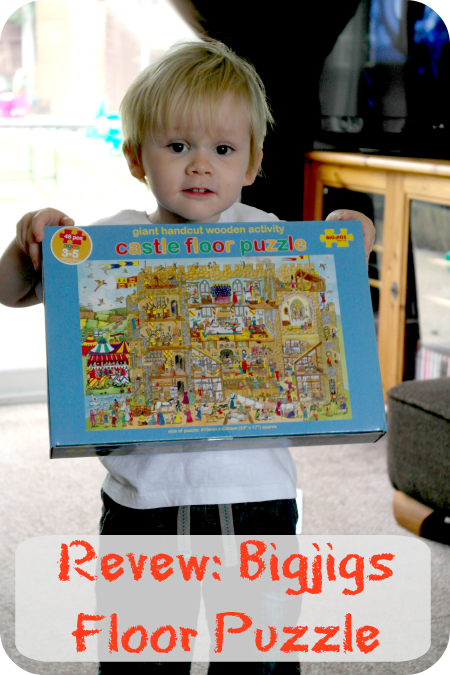 Review: Bigjigs Wooden Floor Puzzle The Oliver\\\'s Madhouse
