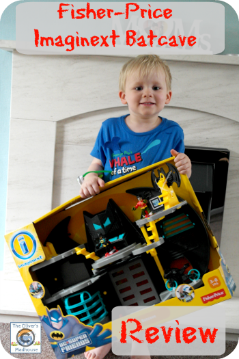 Fisher-Price Imaginext Batcave Review & Giveaway The Oliver\\\'s Madhouse