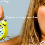 #52LittleThings Week 47 – Create A Sleep Routine