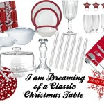 I Am Dreaming Of  Classic Christmas Table