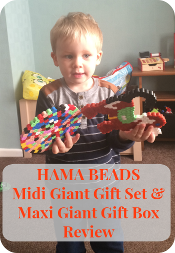 Hama Beads Midi Giant Gift Set & Maxi Giant Gift Box Review The Oliver\\\'s Madhouse