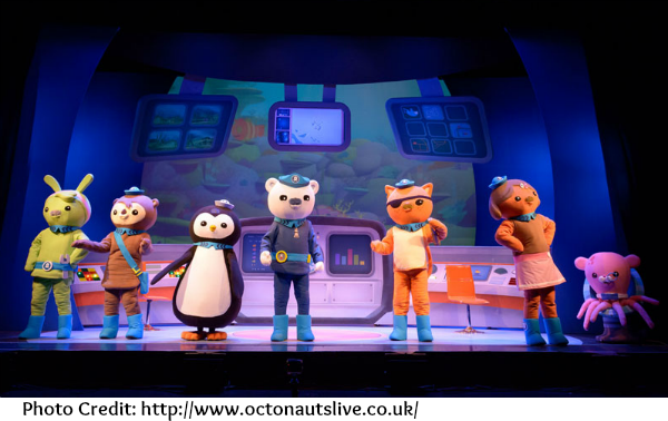 Review: Octonauts Live - The Deep Sea Volcano Adventure  The Oliver\\\'s Madhouse