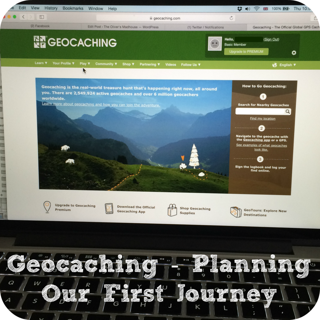 Active Family - Geocaching Planning Our First Journey The Oliver\\\'s Madhouse