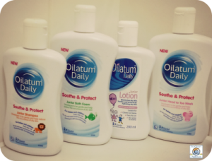 Review & Giveaway: Oilatum Daily Range Bundle (giveaway now closed) The Oliver\\\'s Madhouse