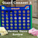 Giant Connect 4 Garden Game Review
