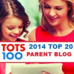 Tots100 Top 20 Parent Blogger