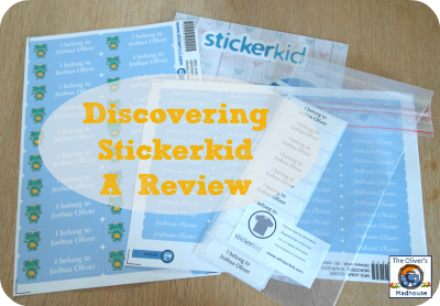 Discovering Stickerkid - A Review The Oliver\\\'s Madhouse