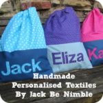 Handmade Personalised Textiles By Jack Be Nimble