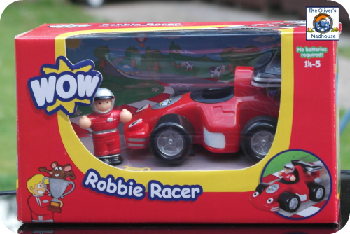 WOW Toys Robbie Racer Review (Giveaway Now Ended) The Oliver\\\'s Madhouse