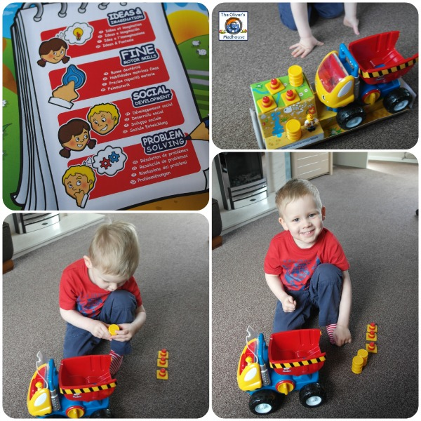 WOW Toys - Dudley Dump Truck Review (Giveaway Now Closed) The Oliver\\\'s Madhouse