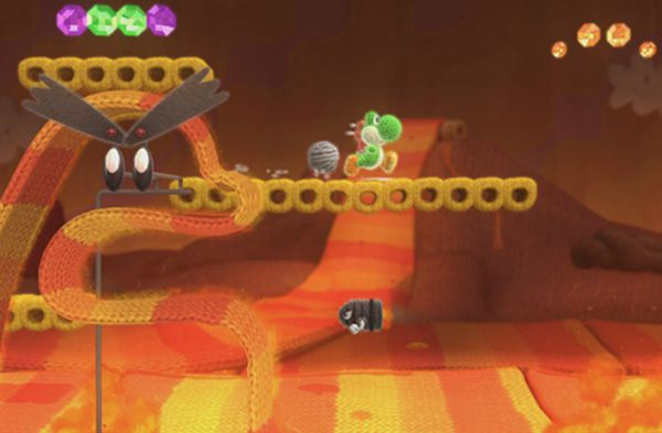 Review: Nintendo Yoshi's Woolly World On Wii U The Oliver\\\'s Madhouse