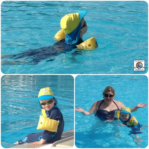Learning A Life Skill - Water Confidence The Oliver\\\'s Madhouse