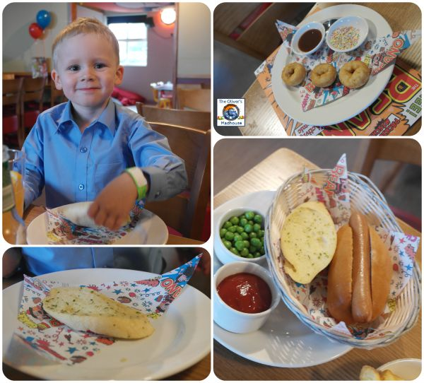 brewers Fayre kids meals