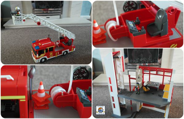 Playmobil Action City - Fire Engine & Fire House Review The Oliver\\\'s Madhouse