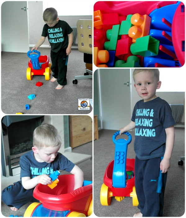 MEGA Bloks First Builders Block Picking Wagon Review The Oliver\\\'s Madhouse