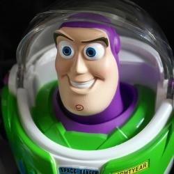 close up of buzz lightyears head
