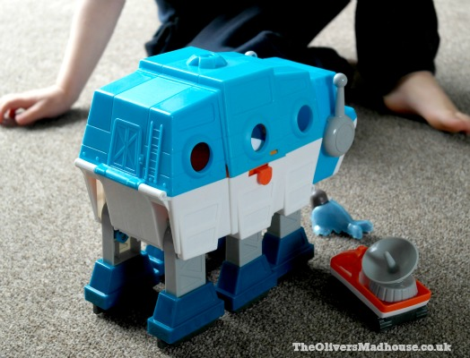 Octonauts Gup-I Transforming Polar Vehicle Review The Oliver\\\'s Madhouse
