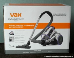 VAX Dynamo Power Reach Cylinder Vacuum Cleaner Review The Oliver\\\'s Madhouse