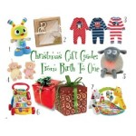 Christmas Gift Guide: From Birth To One