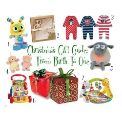 birth to one year gift list
